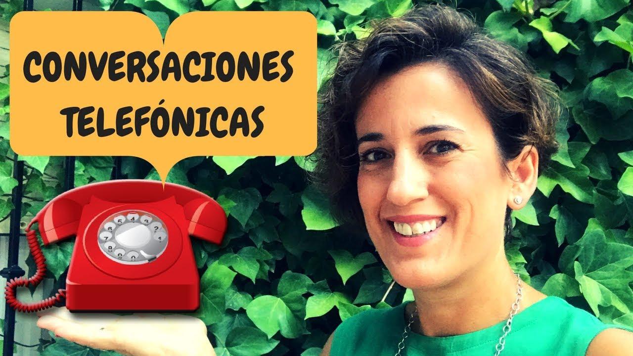 🔝APRENDER ESPAÑOL: CONVERSACIONES TELEFÓNICAS | (NIVEL INTERMEDIO). ESPAÑOL CONVERSACION.#22