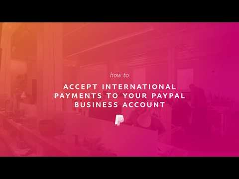 How To Accept International Payments