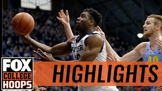 Butler defeats Marquette, 88-80 | 2017 COLLEGE BASKETBALL HIGHLIGHTS