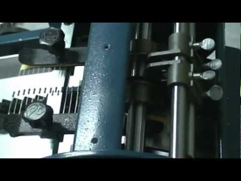RT-86, Axial Lead Forming Machine Lead Former Prepares Taped Resistor