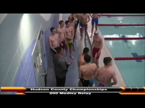 MHS Swimming Hudson County Championships (DAY 5) 2-28-17