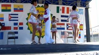 Dancers Dreamzzz Pee Wee Mambo Performance @  The New York Hispanic Heritage Month Celebration