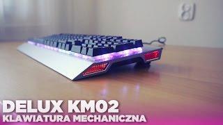 Techniczny Husiek - Delux KM02 | Klawiatura mechaniczna dla graczy! od Hard-pc.pl