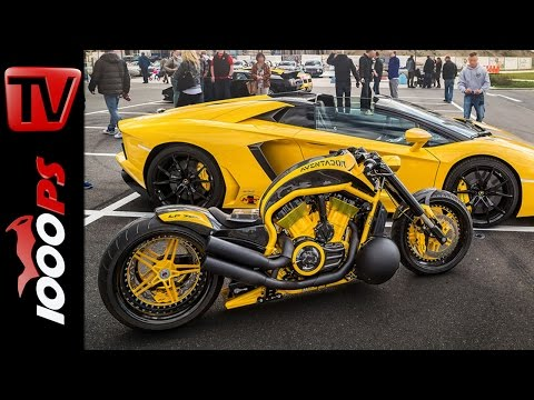 Harley Aventador von NLC No Limit Custom @ SWISS MOTO 2016