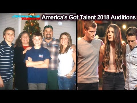 We Three Sibling Band FULL BACKSTORY &Mom Dying Of Cancer America's Got Talent 2018 Auditions S13E01