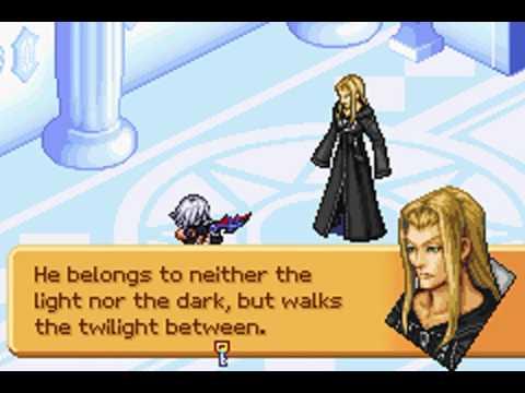 Game Boy Advance Longplay [027] Kingdom Hearts: Chain of Memories (Riku: Part 7 of 9)