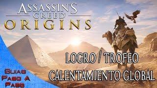 Video de Assassin's Creed: Origins | Logro / Trofeo: Calentamiento global