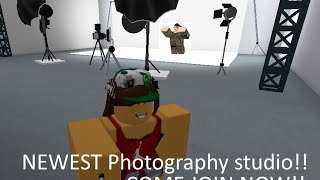 NEW PHOTOGRAPHY STUDIO!!! :ROBLOX