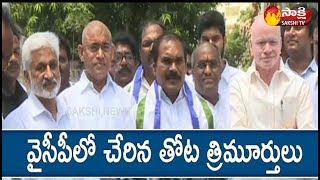 Thota Trimurthulu Says Goodbye to TDP and Joined In YSRCP | Press Conference LIVE