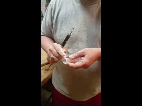 Woodturning Water Pipe Glass Ware