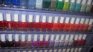My Nail Polish Collection And Storage Part 1: Essie Collection