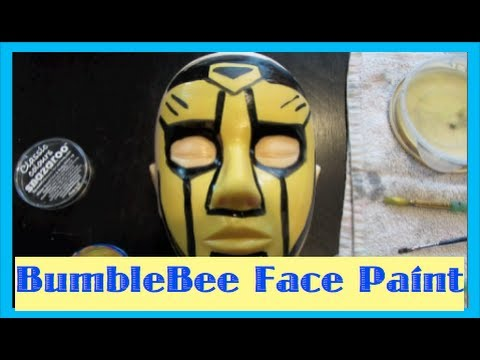Bumblebee Face Paint Transformer