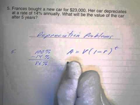 Depreciation Problems