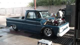 Twin Turbo 64 Chevy Truck