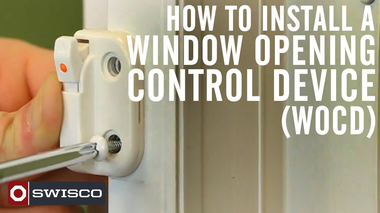 How To Install A Window Opening Control Device Wocd Kit