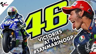 Valentino Rossi's THREE victories at the #SanMarinoGP