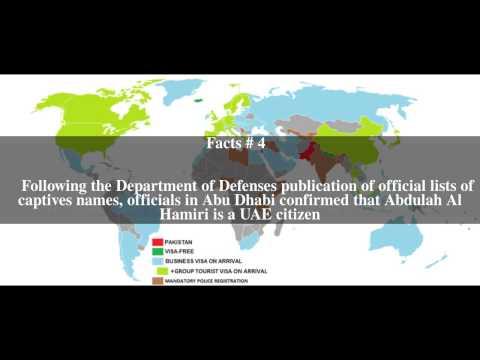 United Arab Emirati detainees at Guantanamo Bay Top # 6 Facts