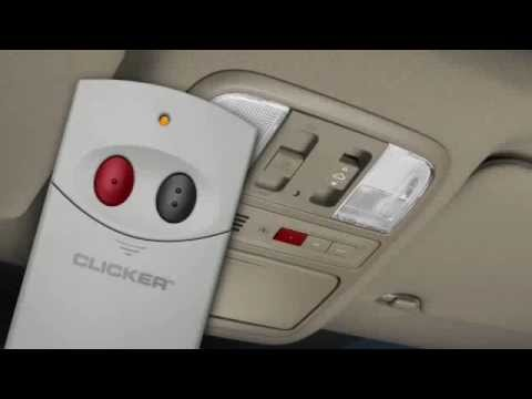 How To Use HomeLink Remote System Acura Of Pleasanton YouTube - Acura home link