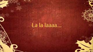 David Archuleta - Los Pastores a Belen w/ Lyrics on screen