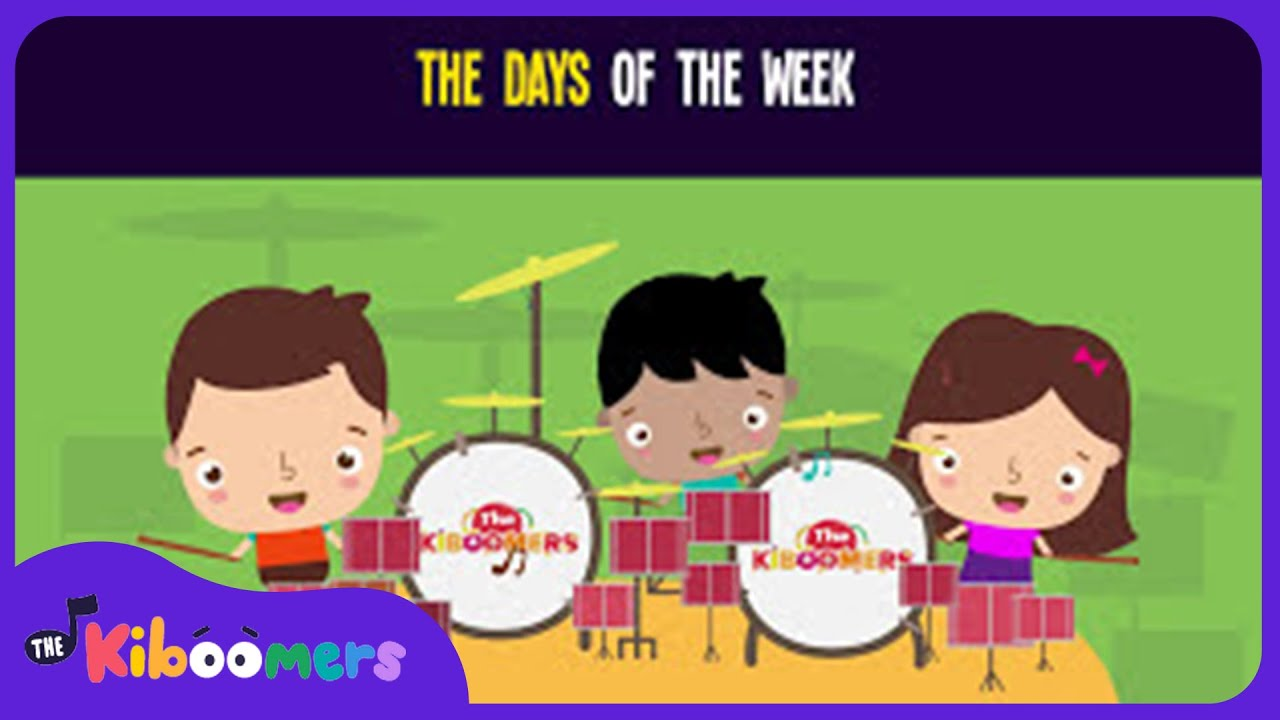 The Days of the Week Song for Kids | Educational Songs for Children | The Kiboomers