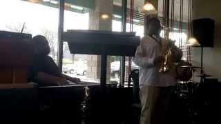 """Center of My Joy"", Live Instrumental Sax Cover by Jamal Riley"