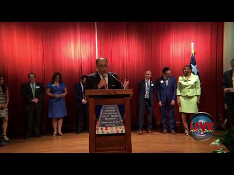 SAHCC Reception Honoring San Antonio's 2017 City Council Leadership