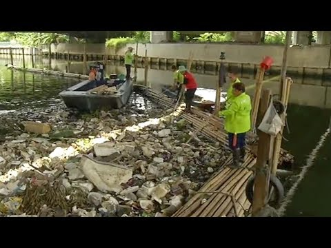 Thailand's efforts to clean up plastic pollution in the Mekong River