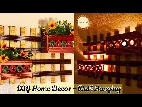 Wall Hanging Crafts | newspaper crafts for home decor | Paper Crafts Easy | magazine craft ideas