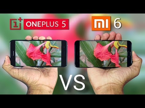 OnePlus 5 vs Xiaomi Mi6 Camera Comparison!
