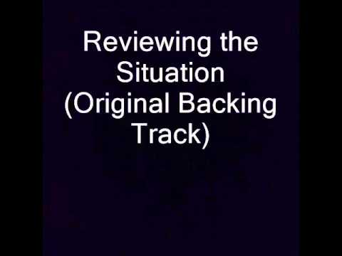 Reviewing the Situation Original Backing Track