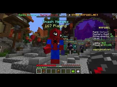 Minecraft HyPixel Gameplay PC