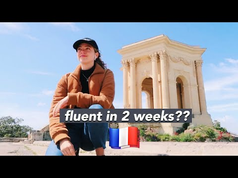 I Learned French in France for 2 Weeks. 🇫🇷