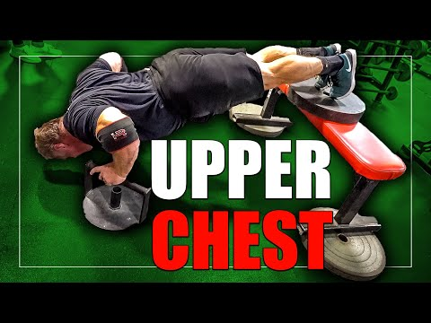 """The Perfect 3 Exercise Chest Workout For """"Upper Pecs"""""""