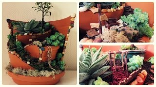 Fairy Garden #1 * DIY * Minigarten im Topf [eng sub]