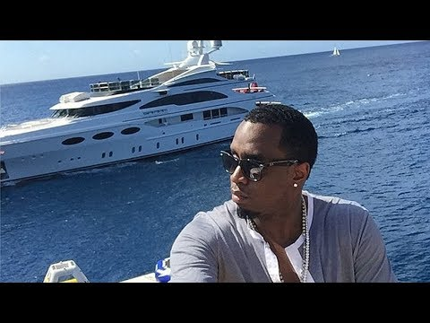 Diddy Shows Off His Yacht To Jay-Z ''We The Kings Of Hip Hop''