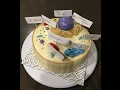 Making an Animal Cell Model using cake & fondant! Great for school science projects!