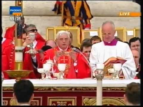 Beerdigung Papst Johannes Paul II (Funeral Pope John Paul II) - 8. April 2005 (Deutsch Komplett)