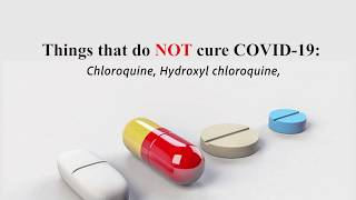 Does Chloroquine cure COVID-19? - FAKE NEWS CHECK BY AFAWI & DUBAWA