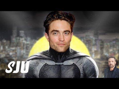 Robert Pattinson Confirmed as The Batman | SJU