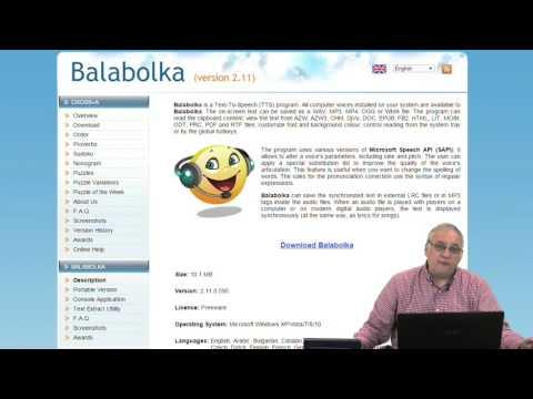 Balabolka Text To Speech App Review