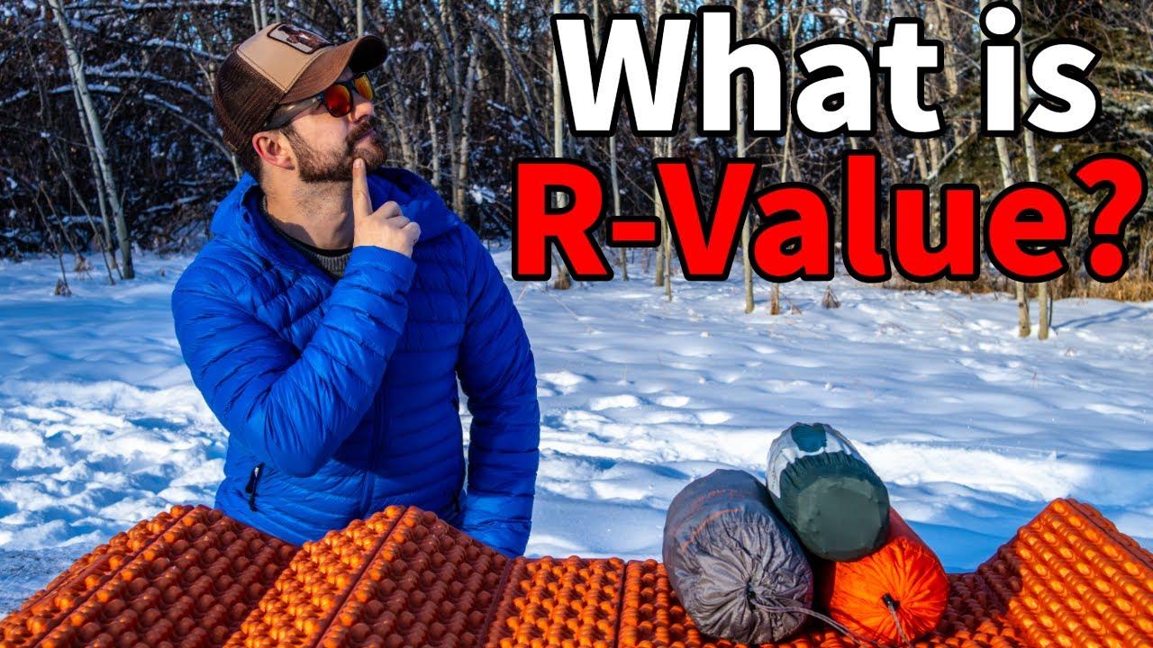 Sleeping Pad R-VALUE Explained - YouTube