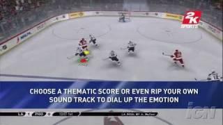 NHL 2K7 Xbox 360 Trailer - Cinemotion In Motion