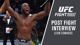 "UFC San Antonio: Leon Edwards - ""The Masvidal Fight Will Happen"""