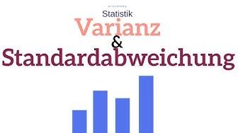 Varianz und Standardabweichung in der Statistik | einfach erklärt | wirtconomy