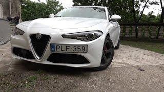 Alfa Romeo Giulia teszt
