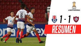 ¡DI SANTO Y UN GOL CLAVE! | U. de Chile 1-1 San Lorenzo | RESUMEN