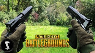 PUBG in REAL LIFE vs Airsoft YouTubers (SOLO)