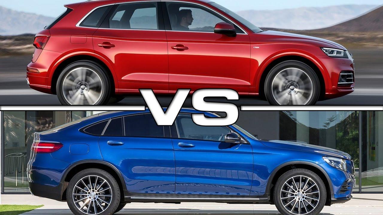Mercedes Benz Gle Coupe >> 2017 Audi Q5 vs 2017 Mercedes GLC Coupe - YouTube