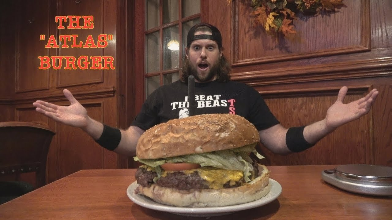 I Was Hungryso I Went Out Got A Giant Cheeseburger La Beast