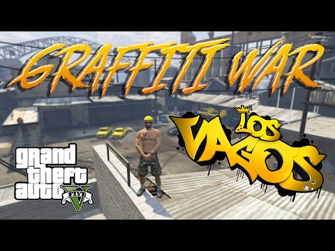 Graffiti War и новая база банды Vagos в GTA 5 RP 🔥
